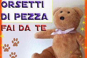 18 CARTAMODELLI ORSO - ORSETTO DI STOFFA E TESSUTO, anche...