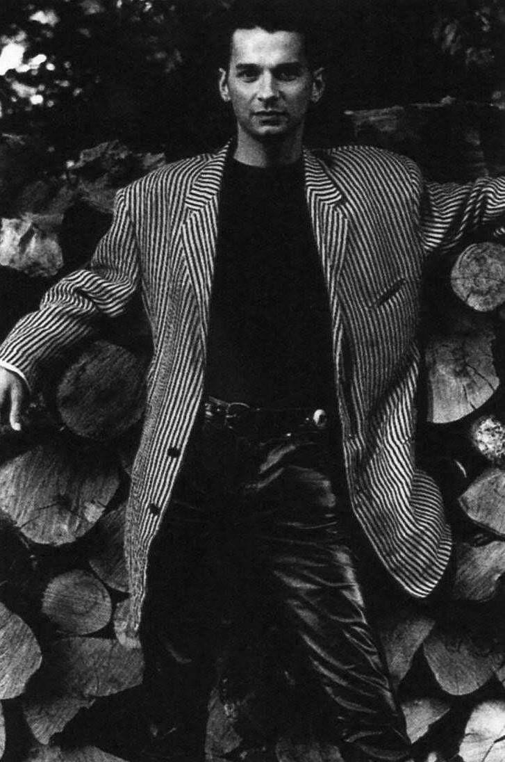 Dave Gahan by Anton Corbijn