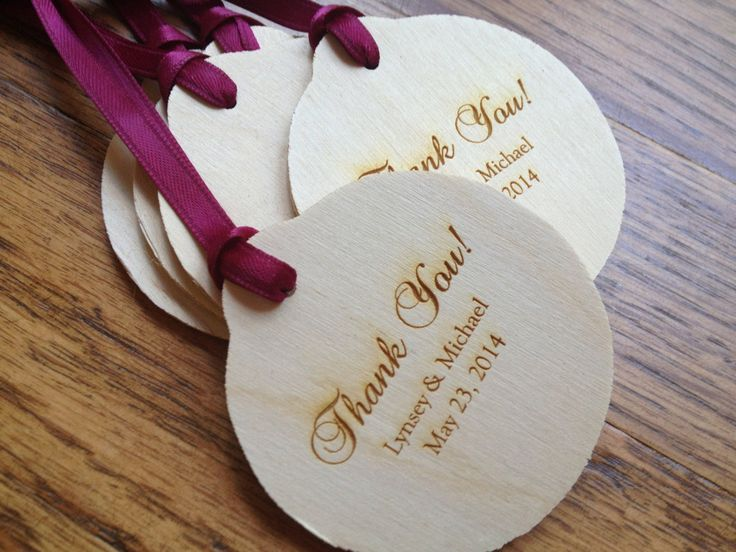 Wedding Gift Ornaments: Christmas Ornament, Engraved Wod, Christmas Wedding Favor