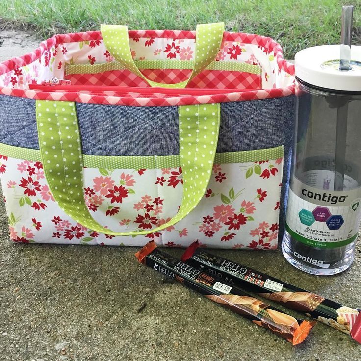 I definitely hit the friend jackpot with @meghann701 and @mommy2lu! They surprised me this weekend with early birthday gifts 😍 I am so excited to use my new @gocontigo water bottle this week and I can't wait to use my #sewingdatetraveler for our future sip and sew weekends! Thanks for spoiling me 😘. #howdidigetsolucky #bonnieandcamille #thimbleblossoms