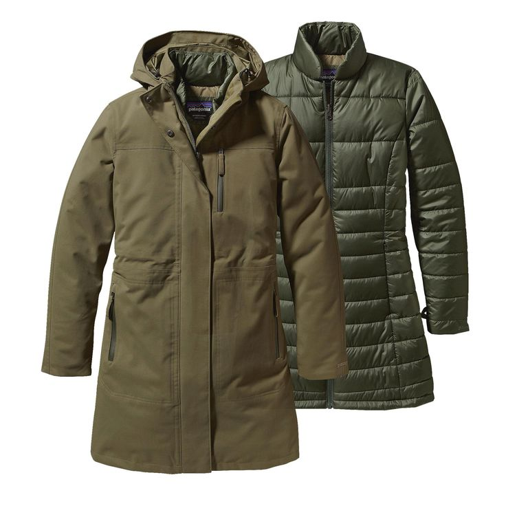 The Women's Stormdrift 3-in-1 Parka is our warmest sportswear parka with a versatile 3-in-1 waterproof coat. Check it out at Patagonia.com.
