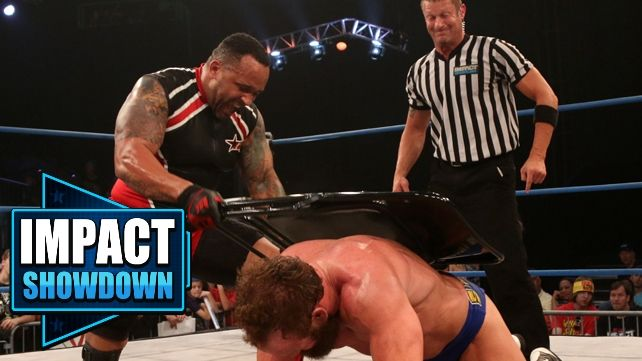 Impact Wrestling 6-12-14 Review: Eric Young Runs MVP's Gauntlet, Brooke Tessmacher Returns! Impact Showdown Ep. 107 | Entertainment | Talk