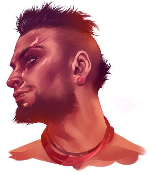 Vaas; Far Cry 3 art