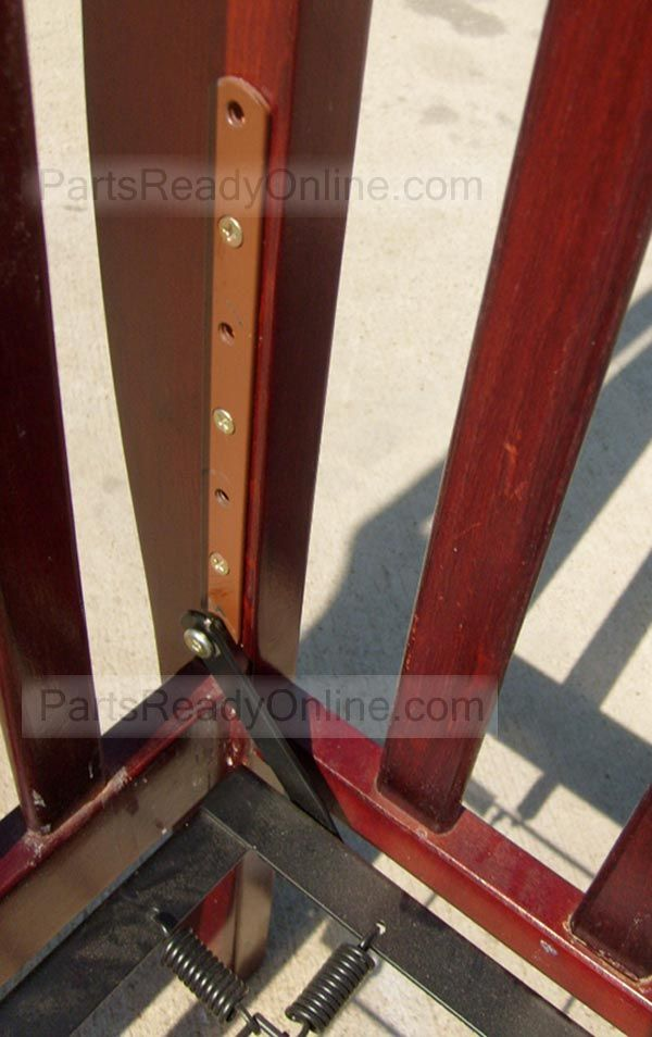 Bolt On Bracket For Crib Mattress Support With 4 Height Adjustments