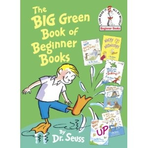 The Big Green Book of Beginner Books: James Of Arci, Big Green, Books Beginner, Comic Books, Beginner Books R, Green Books, Dr. Seuss, Children Books, Beginner Booksr