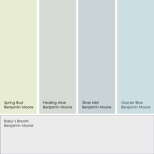 Color Palette For Painting House