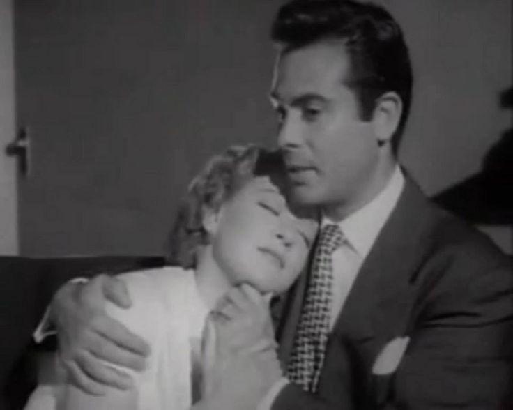 """Maricruz Olivier y Fernando Casanova en """"Si volvieras a mí"""".-1954"""