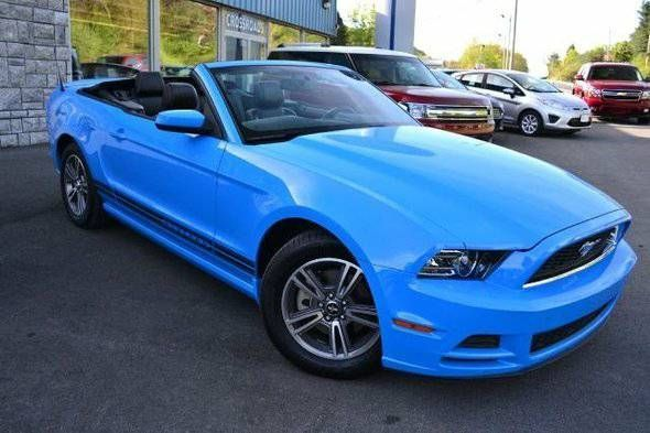 Ford Mustang Images » Images: 2013 Ford Mustang Convertible Grabber Blue