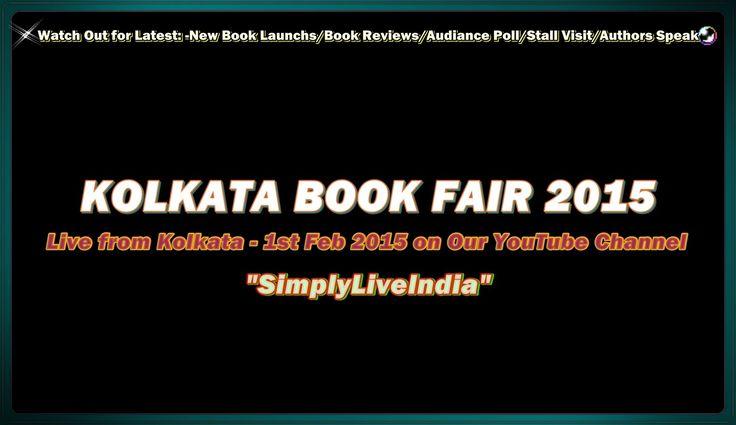 Live Kolkata Book Fair 2015