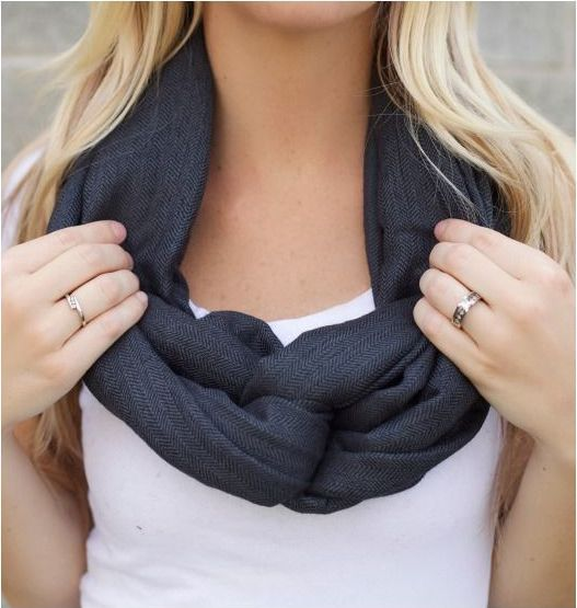 Women are always searching for the best way to wear an infinity scarf over the web and social media like Facebook, Pinterest. You can stop here and learn the easiest way to wear scarf. We believe you will be definitely helpful with this and will share it to your friends and family Here are the five