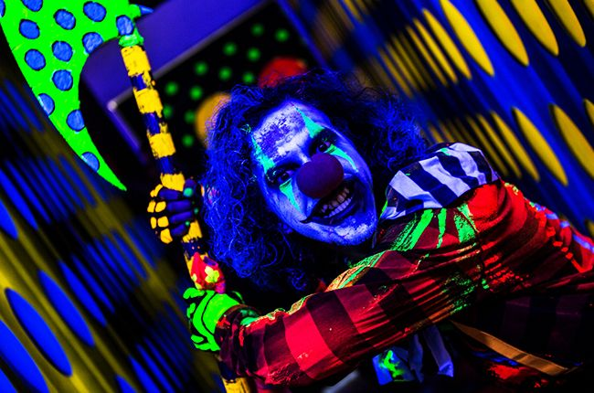 blacklight haunt | Rob Zombie on His Haunted Houses & How They Inspired His New Film