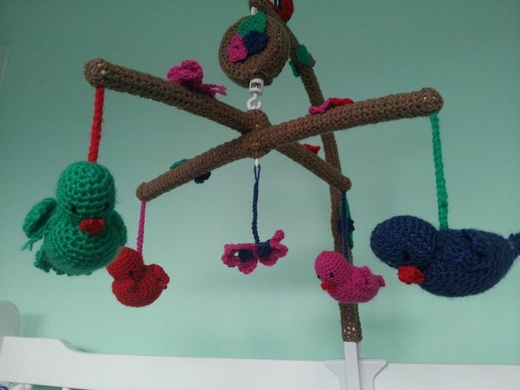 pimp your baby mobile!  https://www.facebook.com/pages/Crochet-by-Rienke/330850887028779?ref=hl