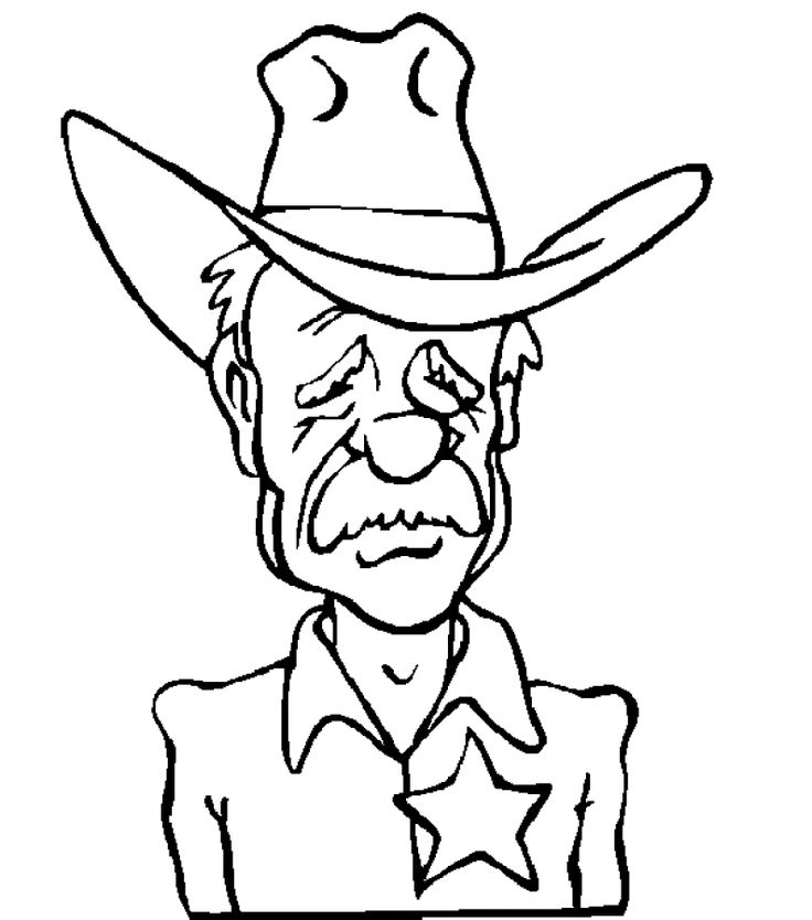 free cowboy coloring page cowboy coloring pages 16 printable coloring page