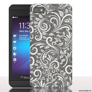 Coque de Blackberry z 10 Floral Titanium. #Blackberry #z10 #titanium #floral