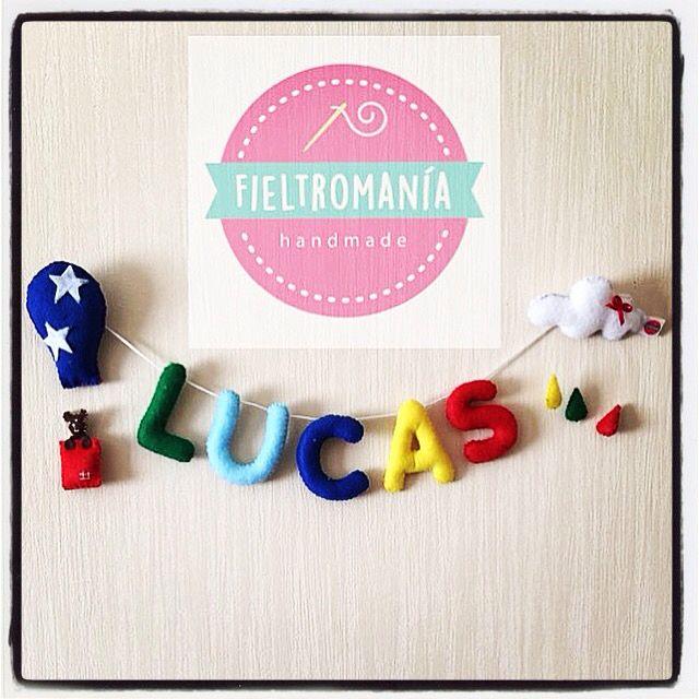 Letrero Personalizado Lucas