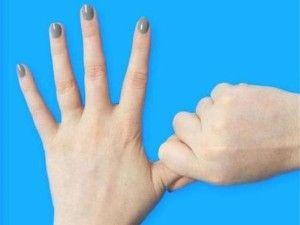 masaz palec