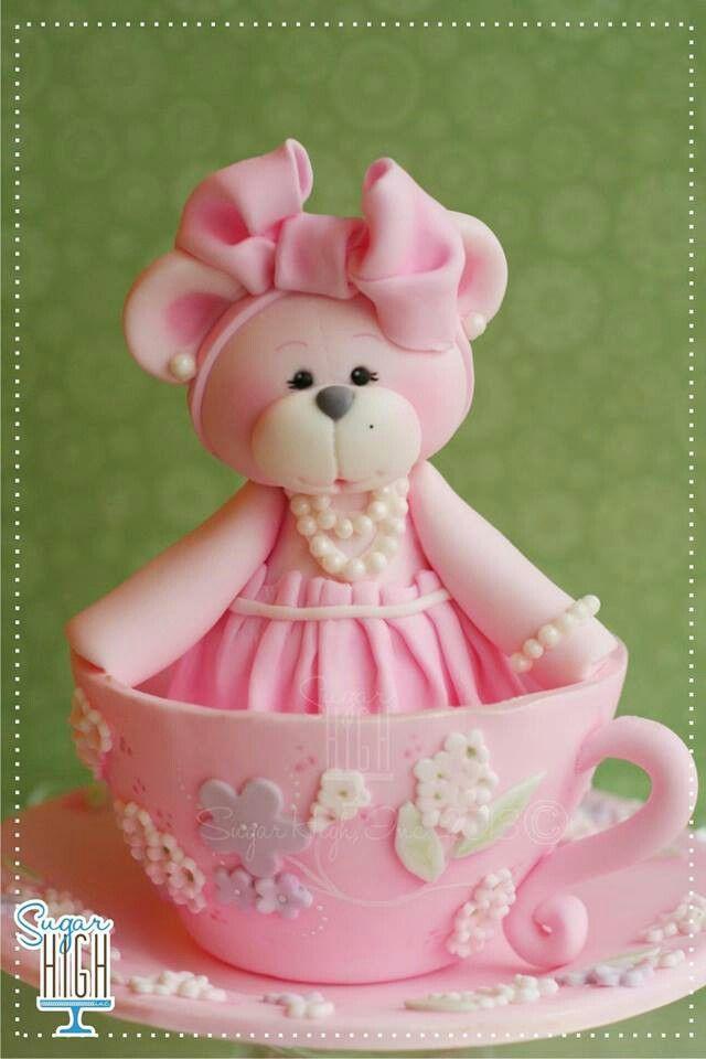 Adorable cake topper