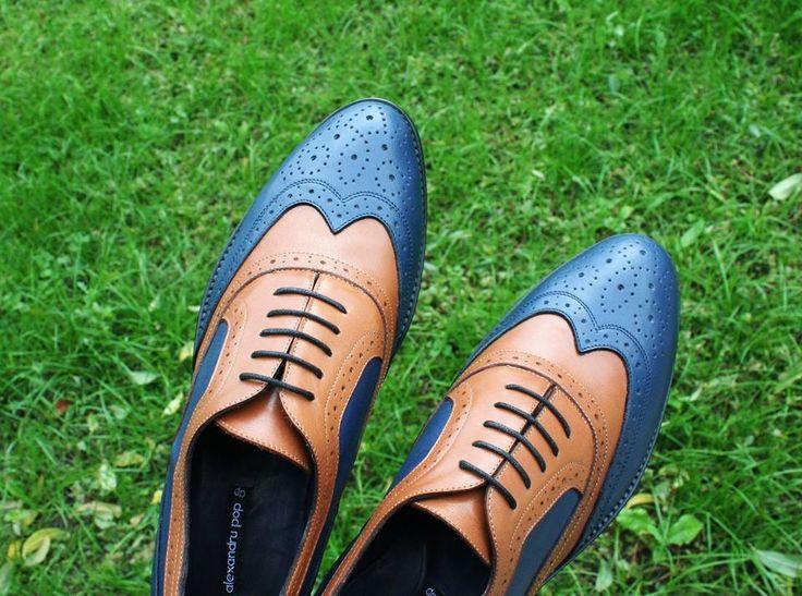 Oxford Brogue Shoes by Alexandru Pop
