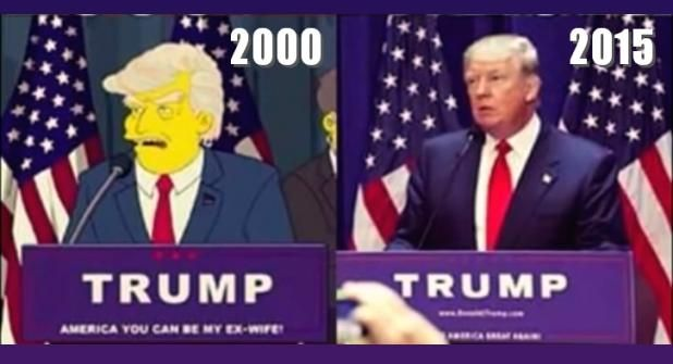 'DONALD TRUMP PRESIDENT' - SIMPSONS Episode Predicted It 15 Years Ago