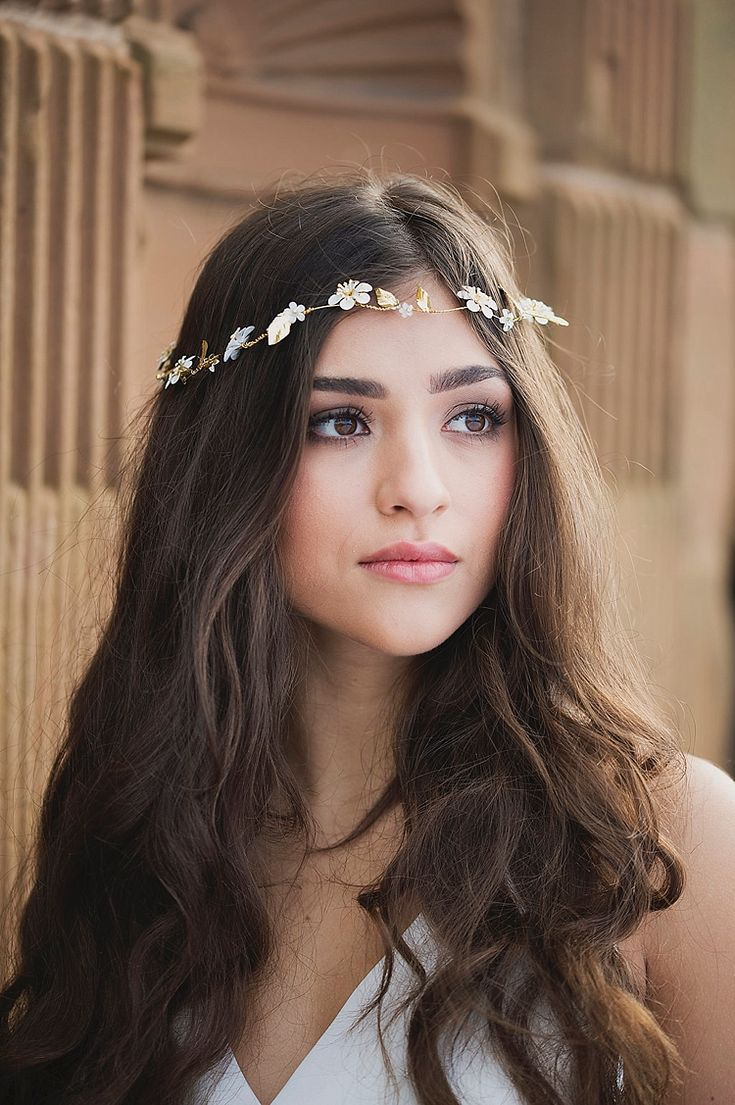 Wedding hair accessories gloucestershire - Bride Bridal Hair Vine Accessory Make Up Hair Violet Spring Luxe Wedding Ideas Http