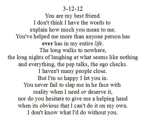 i love you best friend letter-#12