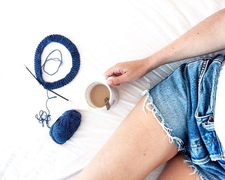 knitting & coffee