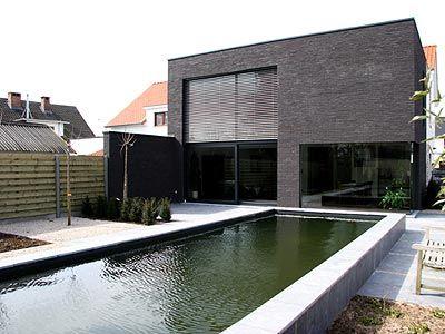 Moderne woning • renovatie • kubus • Brasschaat • architect Bert Parton #livios