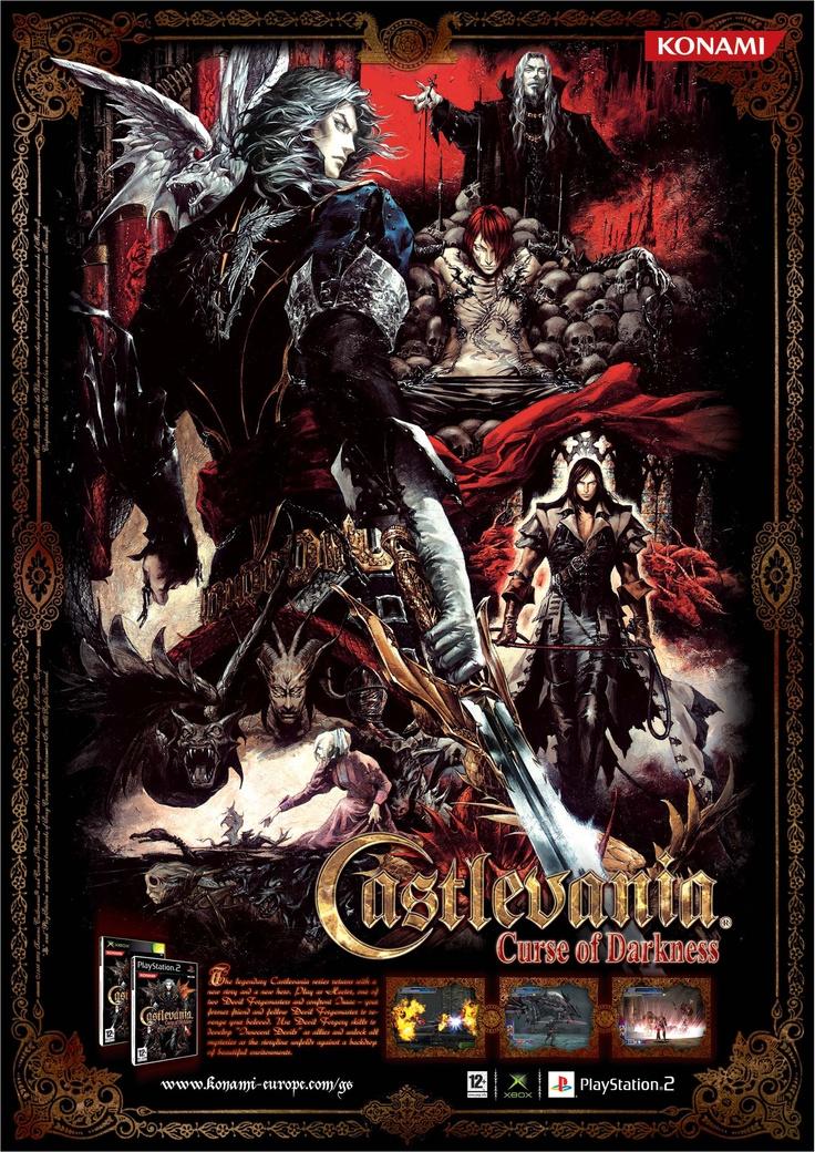 Advert . Castlevania Curse of Darkness . Xbox, PlayStation 2