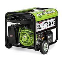 All Power 10,000W Propane Powered Generator with Electric Start