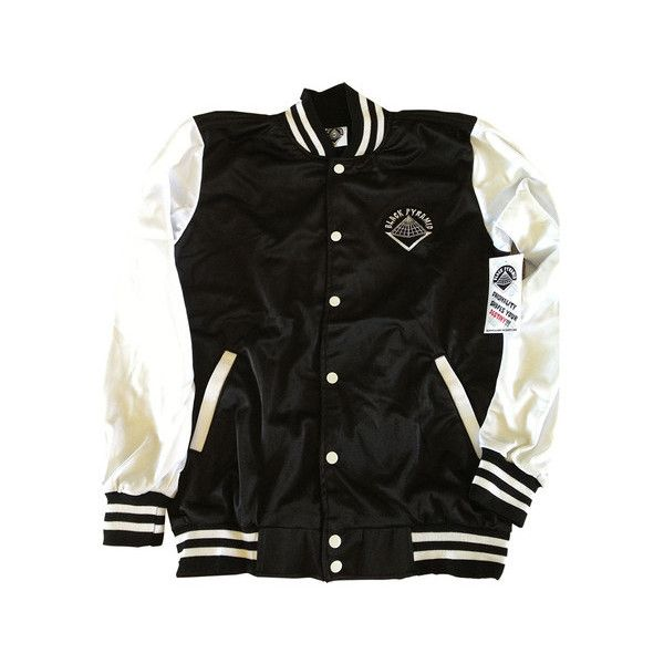 Black Pyramid Track Jackets liked on Polyvore featuring ...