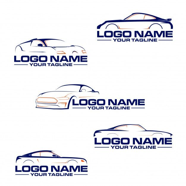 Logo De Voiture Automobile Car Logos Auto Service Red Sports Car