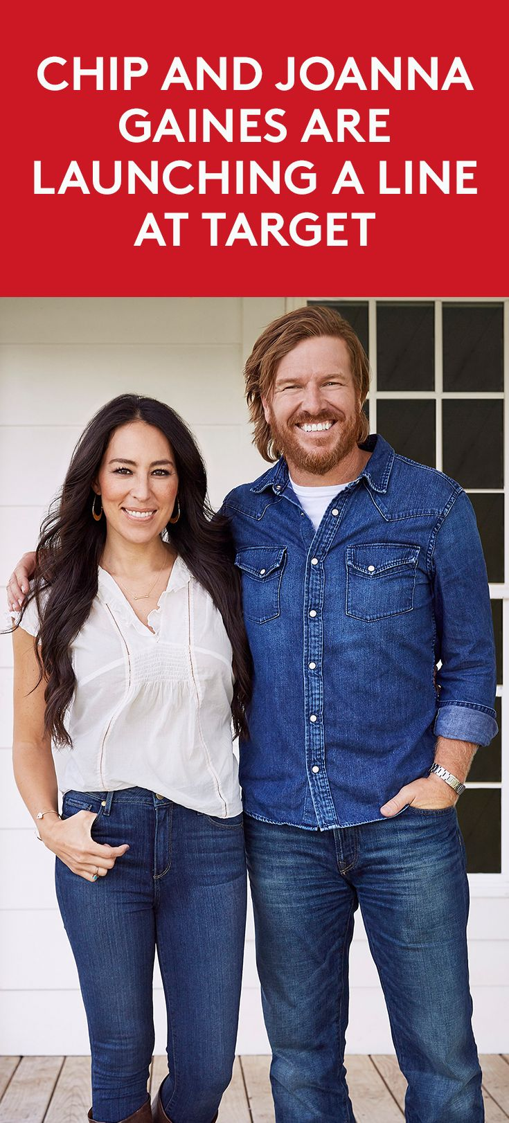 Chip and Joanna Gaines Are Launching a Line at Target |  The collection hits stores November 5th.