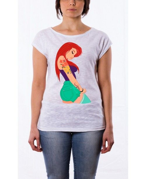 T-shirt Fiammata Ariel