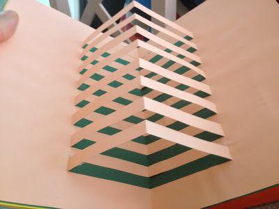 Libro de fractales y kirigami | Matemáticas interactivas y manipulativas