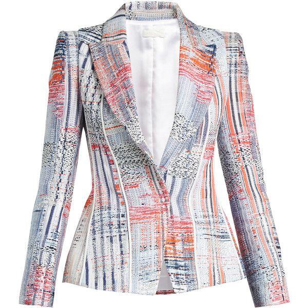 Multi peaklapel tweed jacket Carl Kapp