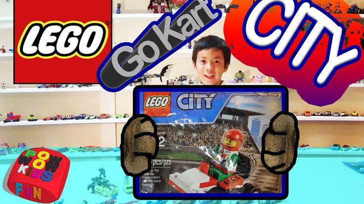 LEGO CITY 30314 GO-KART RACING CAR 레고시티 30314 고 카트 레이싱 카 리뷰
