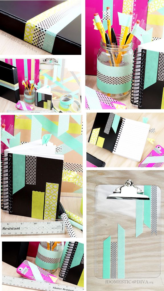 9 Supplies to Decorate with Washi Masking Tape
