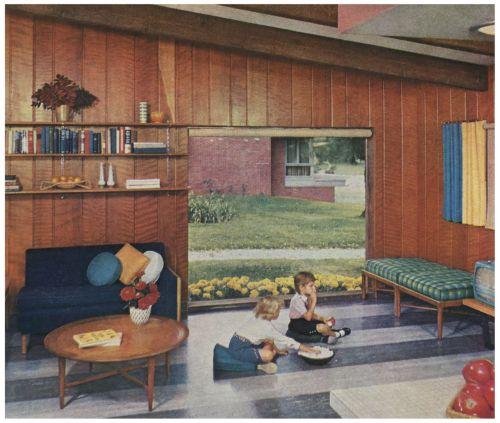 406 best 1950s Living room images on Pinterest | Vintage interiors ...