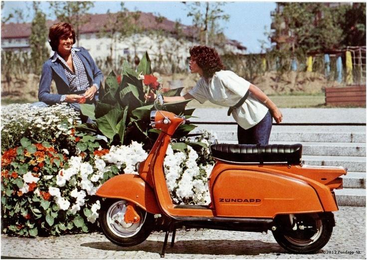 Vintage Motor Scooter 21