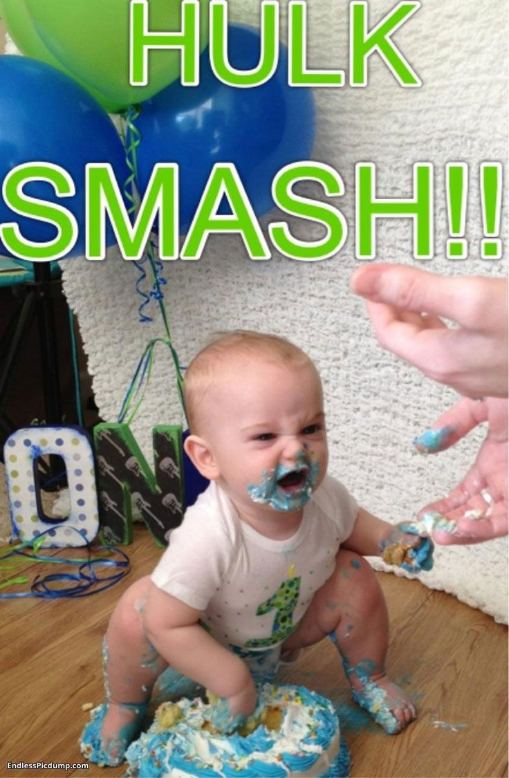 The 20 Funniest Baby's First Birthday Cake Photos Ever