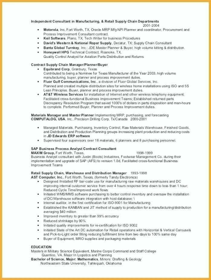 Military Veteran Resume Examples To Civilian Template For Example Sample Experience Best 2019