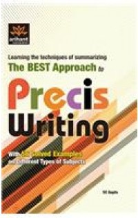essay precis writing and comprehension books A resource to assist tutors working with indigenous students table of contents the academic world 3 critical thinking 4 preparing to write an essay 6 unpacking the essay question 6 looking at the marking rubric 7 understanding a brainstorm of the essay topic 8.