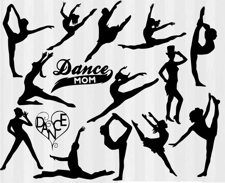 pin by kelly stover on cricut dance silhouette svg