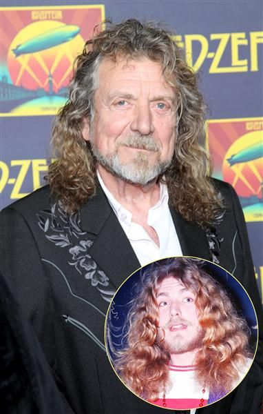 Robert Plant now and then....