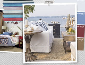 I pinned this from the Style Study - Maritime Chic event at Joss and Main!