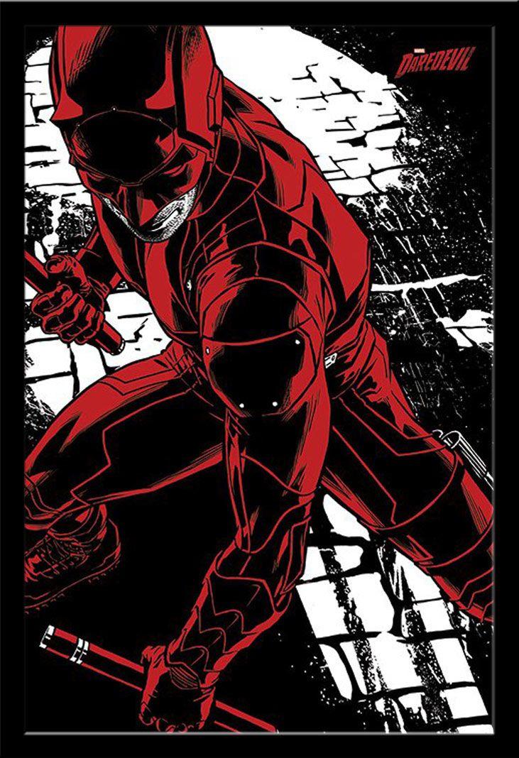Marvel-Daredevil-Fight-TV-Serie-Poster-Druck-Plakat-Groesse-61x91-5-cm