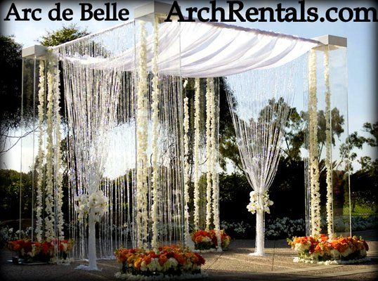Acrylic Wedding Canopy Rentals In Los AngelesOrange CountySan DiegoPhoenix