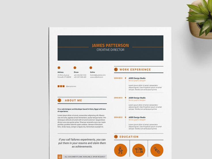 free creative indesign resume template for best impression - Free Indesign Resume Template