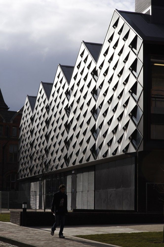 Heating Infrastructure Building in Liverpool University by Levitt Bernstein Associates