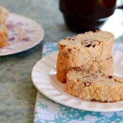 Joy the Baker makes Peanut Butter Pecan Biscotti